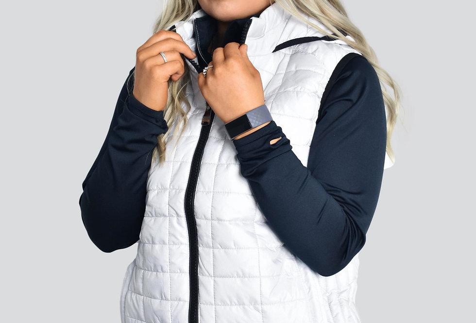 Women's Pro Light Body Warmer - White