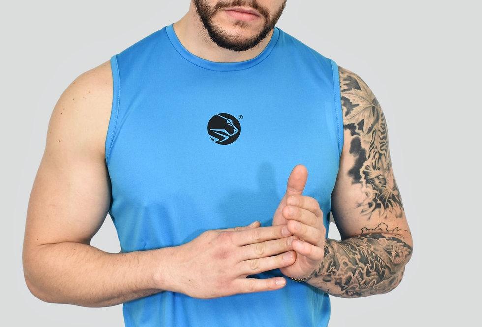Men's Lion Heart Vest - Sapphire