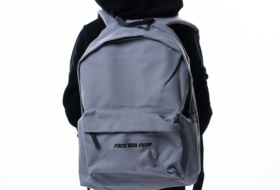 Fashion Backpack - Light Grey