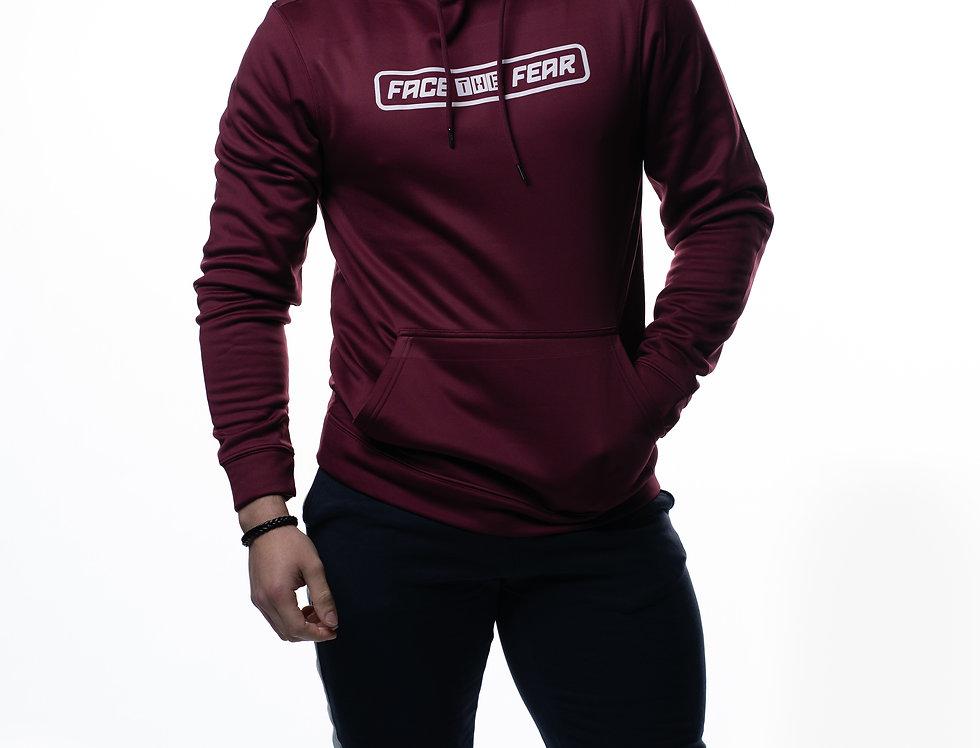 Men's Sports Hoodie - Burgundy