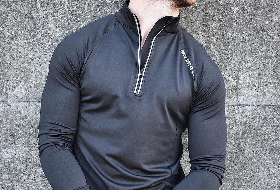 Men's Ultimate Flex 1/2 Zip - Jet Black