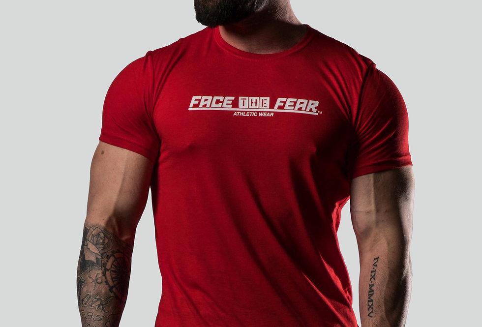 Men's Triblend T-Shirt - Red