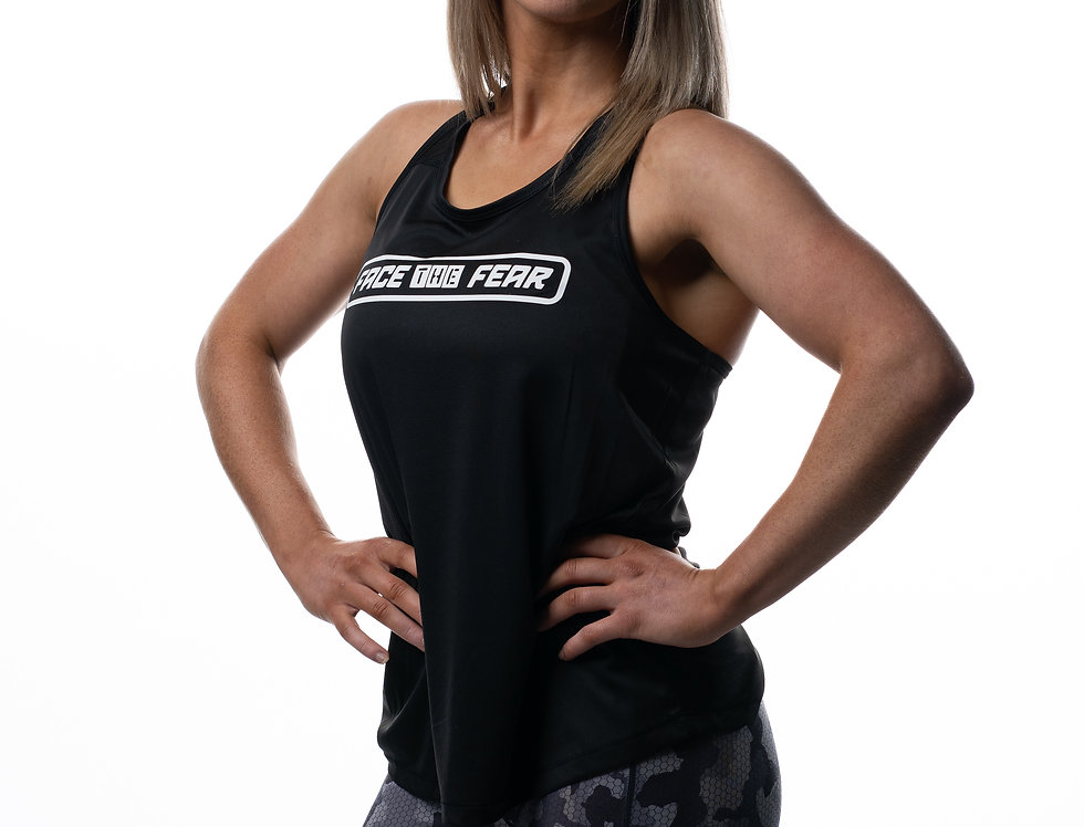 Women's Smooth Workout Vest - Black