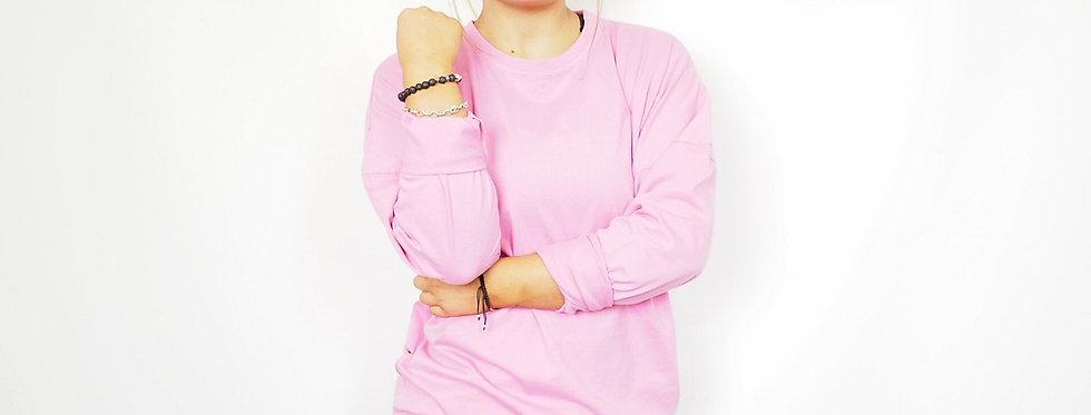 Women's Oversized Jumper - Pink