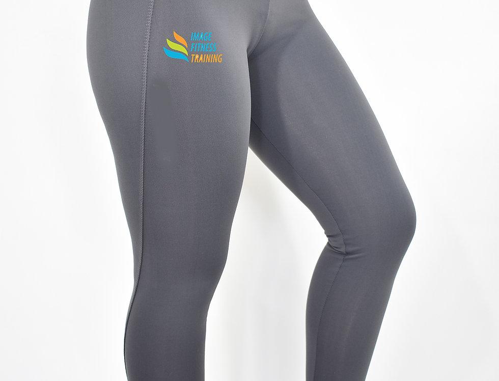 IF Women's Athletic Leggings - Charcoal