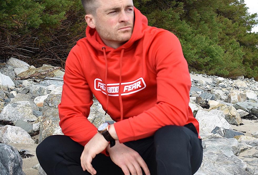 Men's Sports Hoodie - Red