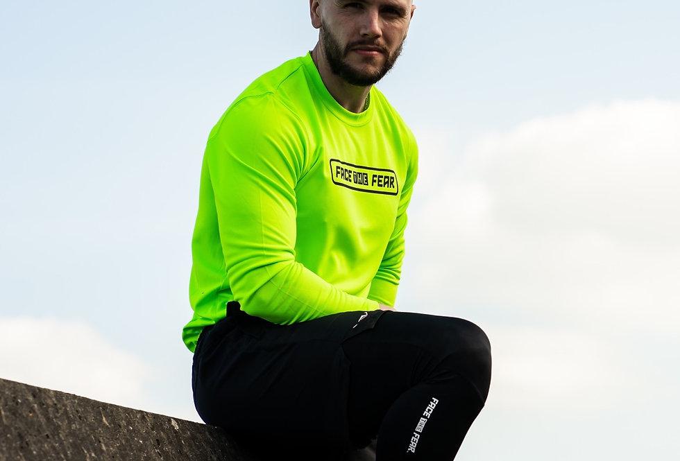 Men's Neon Long Sleeve - Neon Green