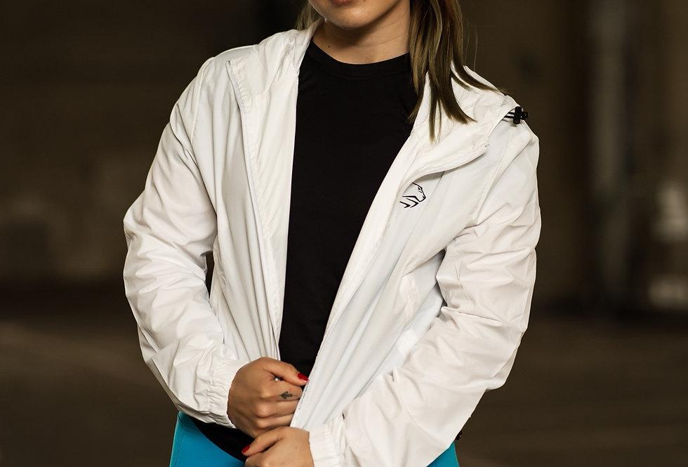 Women's Running Jacket - White