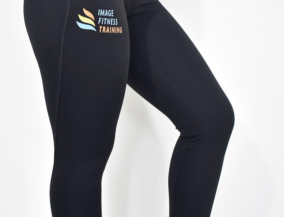 IF Women's Athletic Leggings - Black