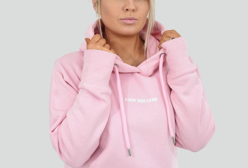 Women's Organic Lux Hoodie - Baby Pink