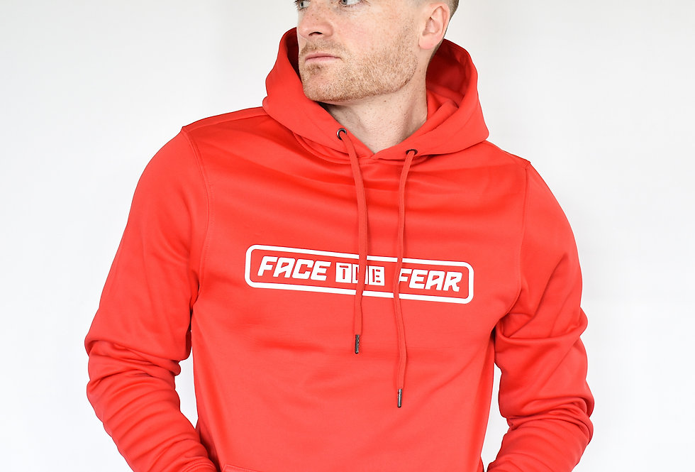 Men's Sports Hoodie - Red