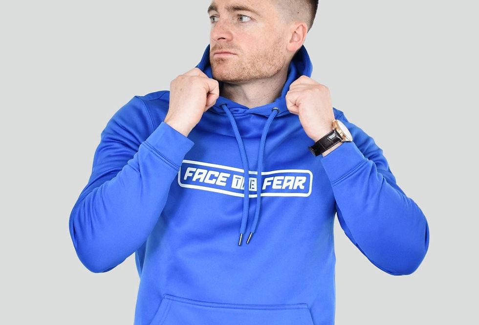 Men's Sports Hoodie - Royal Blue