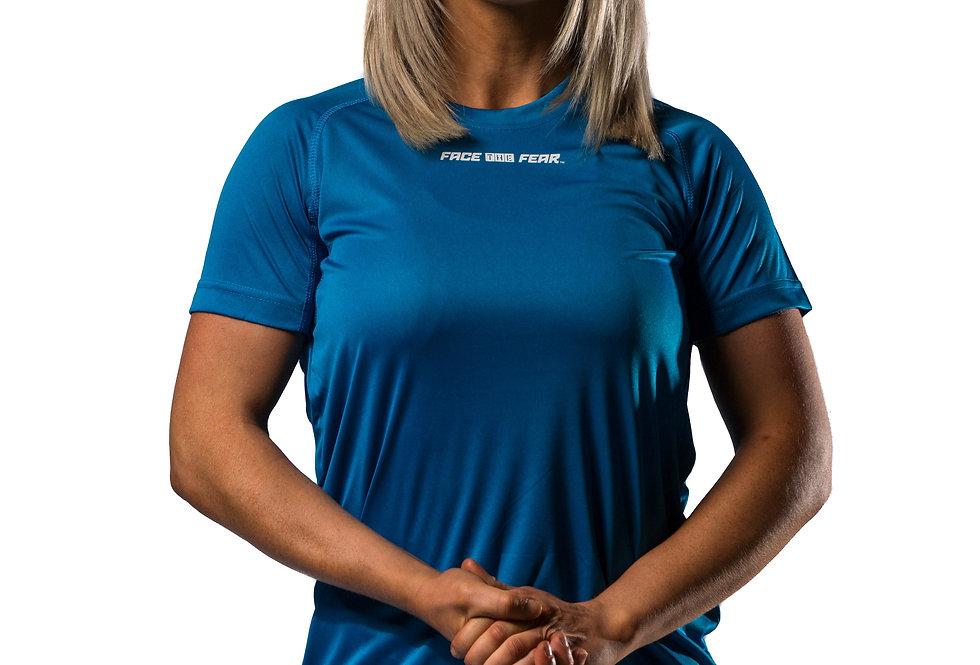 Women's Tech T-Shirt - Sapphire