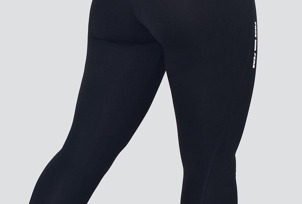 Women's Athletic Leggings - Black