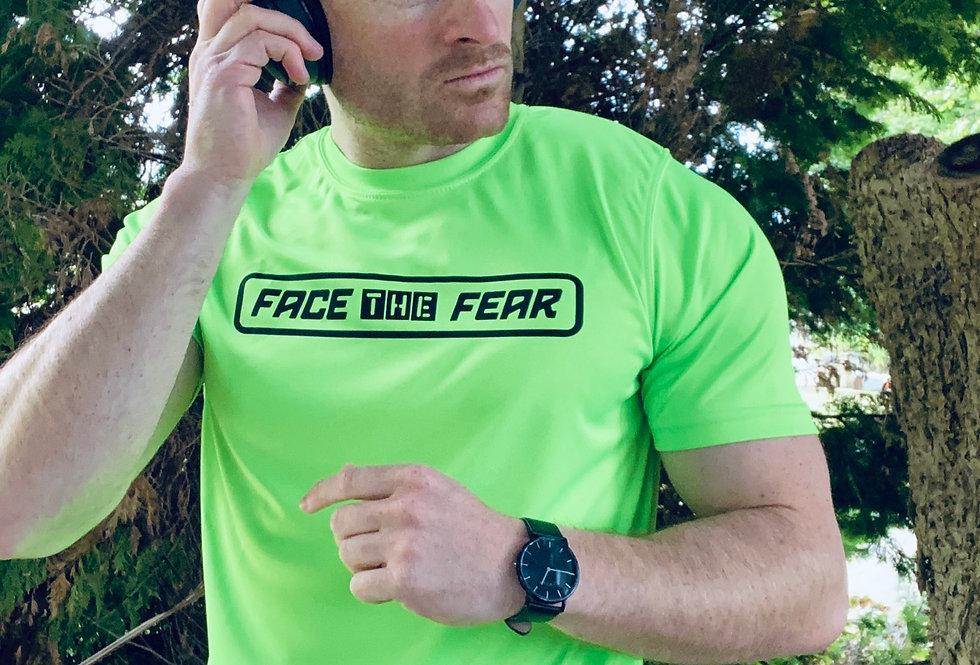 Men's Neon Training T-Shirt - Electric Green