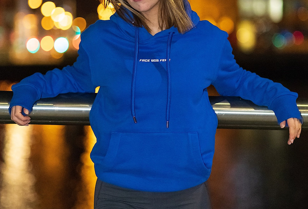 Women's Organic Lux Hoodie - Royal Blue