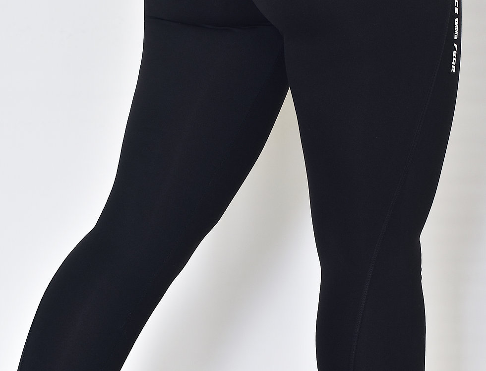 Women's Athletic Leggings - Black