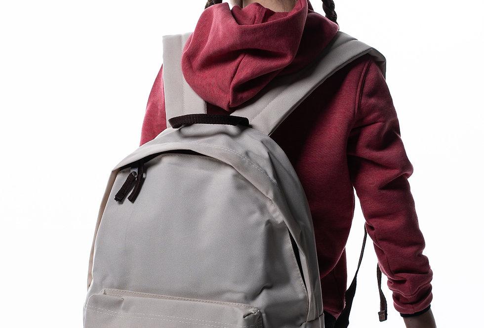 Fashion Backpack - Sand/Chocolate