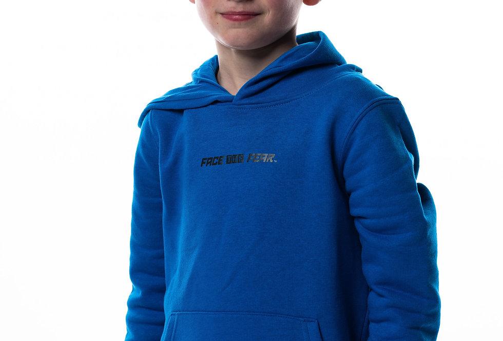 Kids Iconic Hoodie - Royal Blue