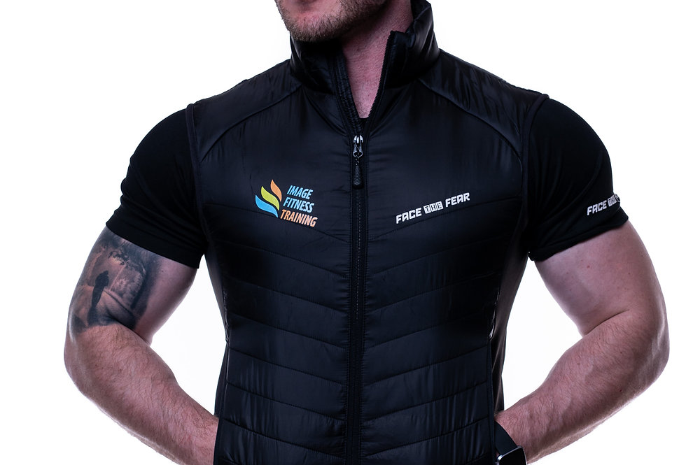 Men's Body Warmer - Black