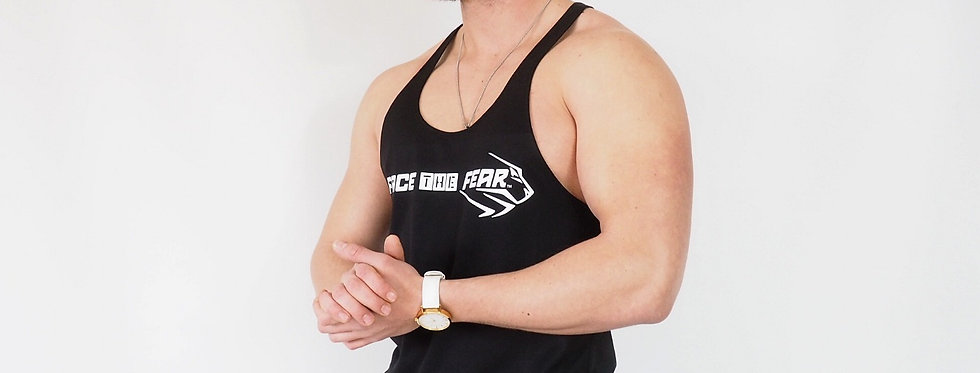 Men's Muscle Vest - Black