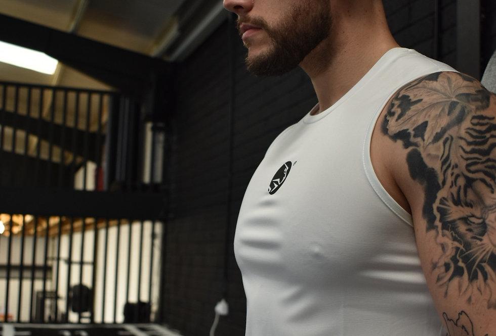 Men's Lion Heart Vest - White