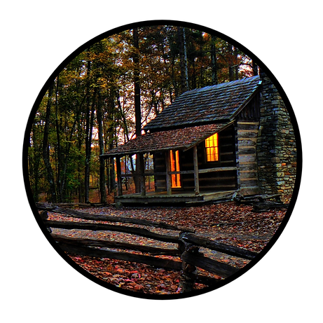 Cabin in the woods black border.png