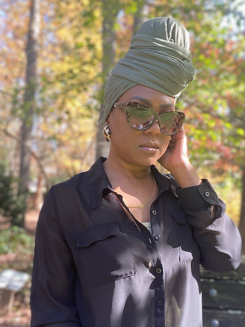 Gele Wraps Fall Collection- No Face Covering