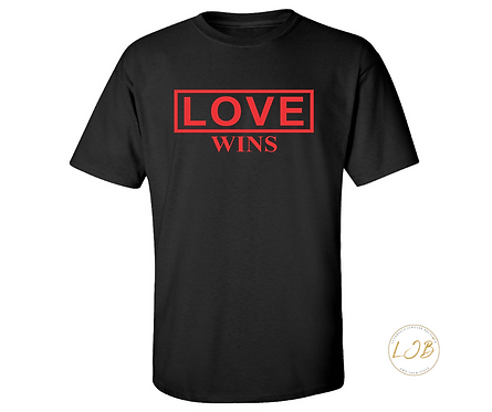 Love Wins T-Shirt (relax fit)
