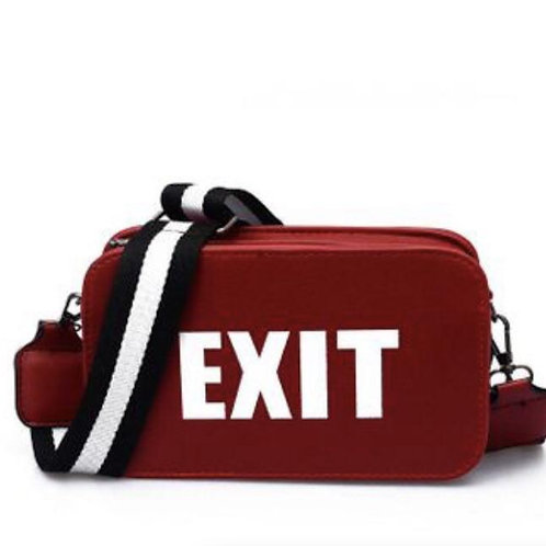 Exit Only Crossbody Bag