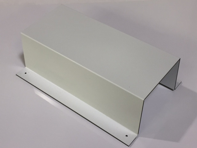 ACM Wall Mounted Cover; Glossy White