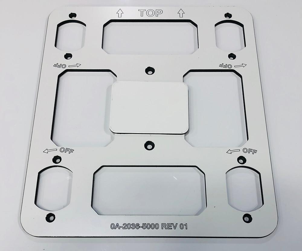 Custom CNC Routed 6mm Alupanel Fixture