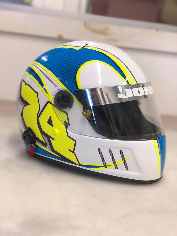 74 helmet wrap