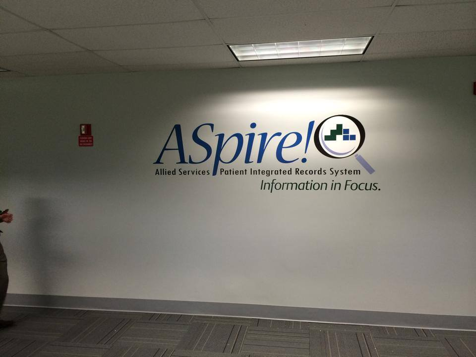 ASpire Wall Graphic