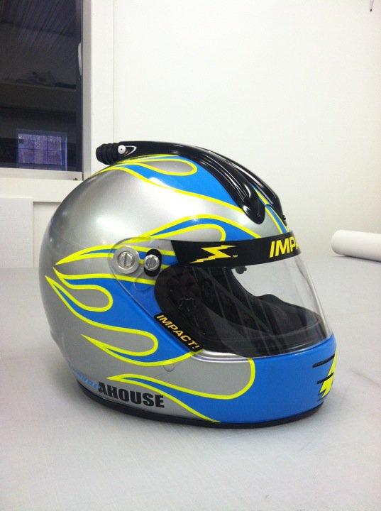 Flame Helmet