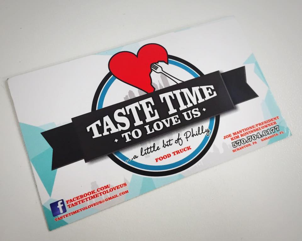 Taste Time Business Card