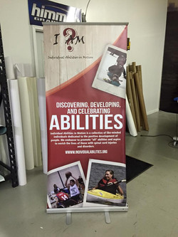 ID Banner Stand