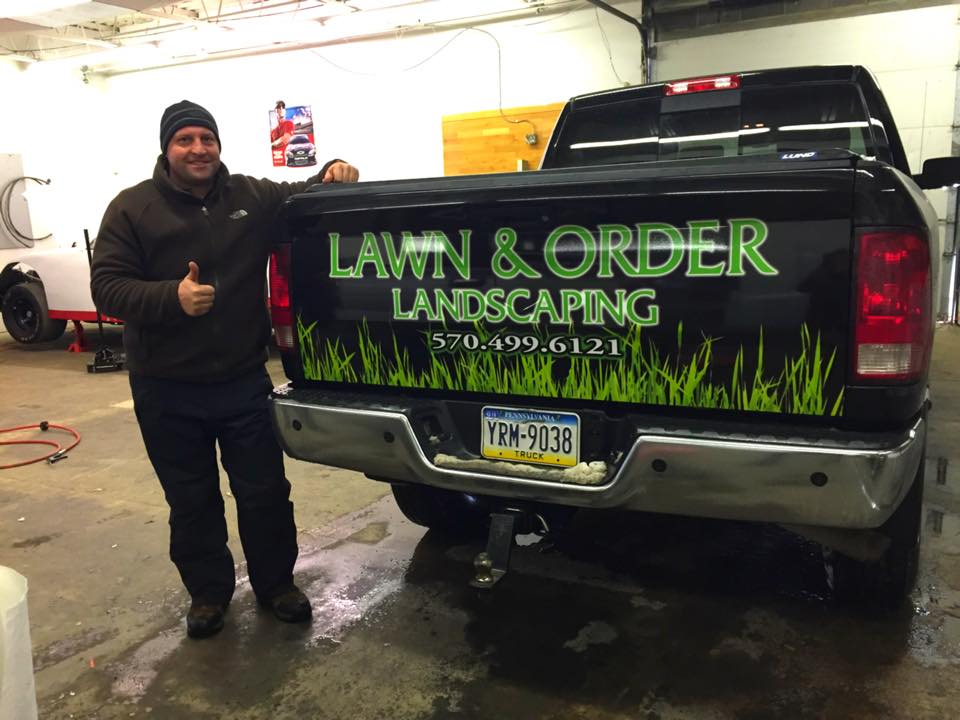 Lawn And Order Tailgate
