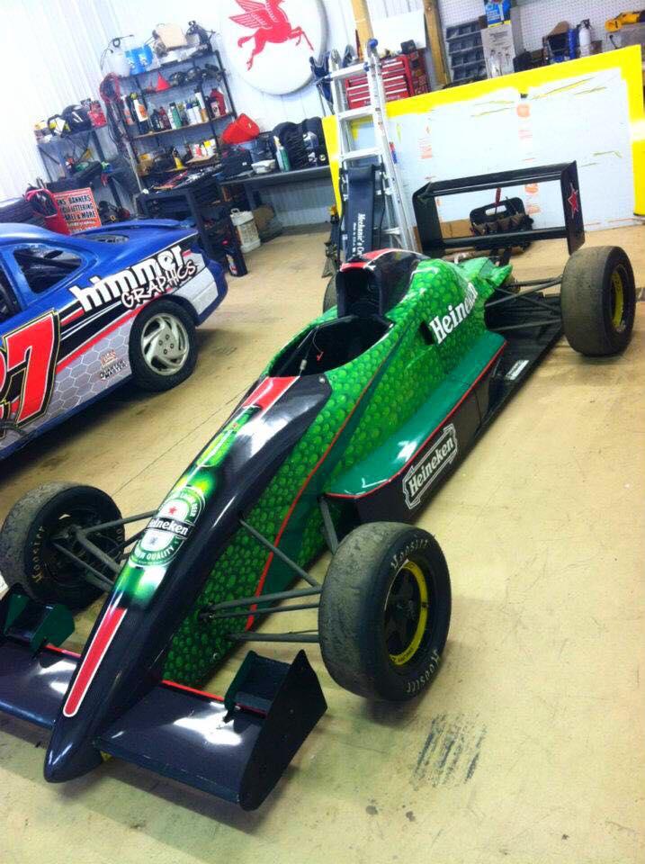 Formula Ford Wrap