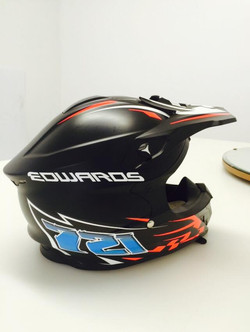 Edwards Helmet