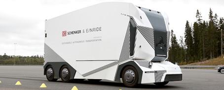 Einride-T-pod DB-Schenker