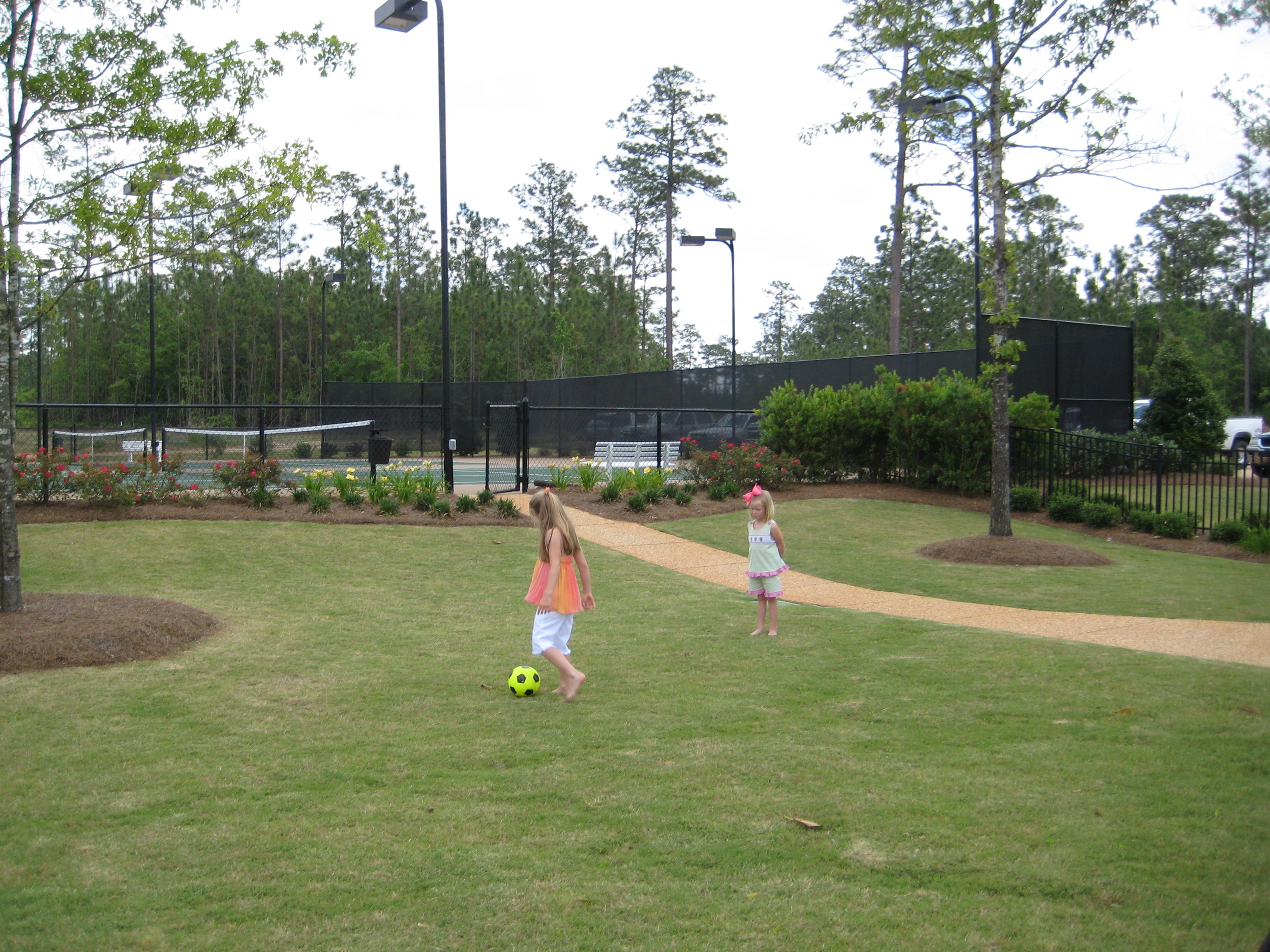 Grounds Outside Tennis Courts