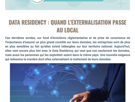Data Residency : quand l'externalisation passe au local