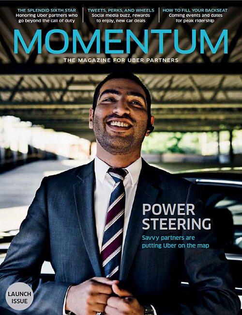 Magazine Uber Momentum à destination des chauffeurs