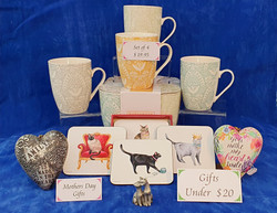 Mother's Day gifts for cat lovers. Gifts under $20