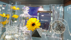 Tumblers, photo frames and vases