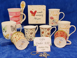 Mother's Day Queen's mugs. Gifts under $20