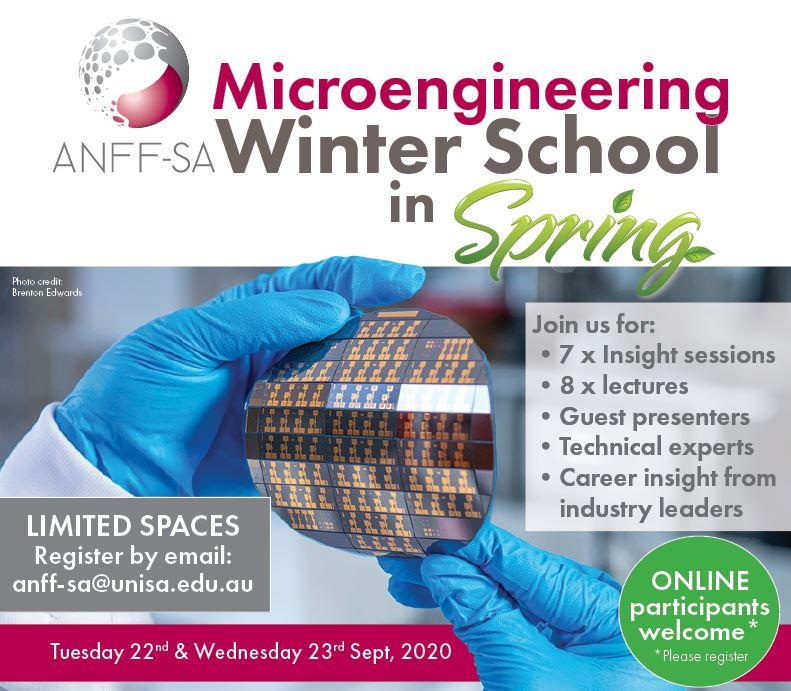 Microengineering Winter School in Spring!
