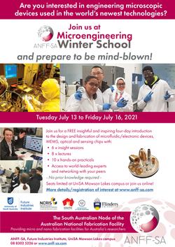 Winter School A4 flyer 2021