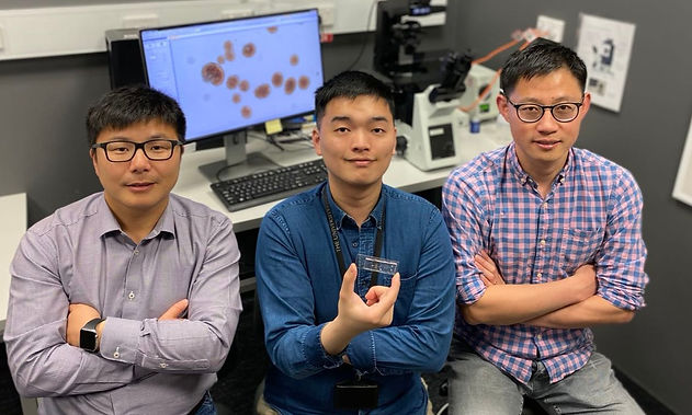 A powerful microfluidic sensor may help identify novel therapies for treating type 2 diabetes.